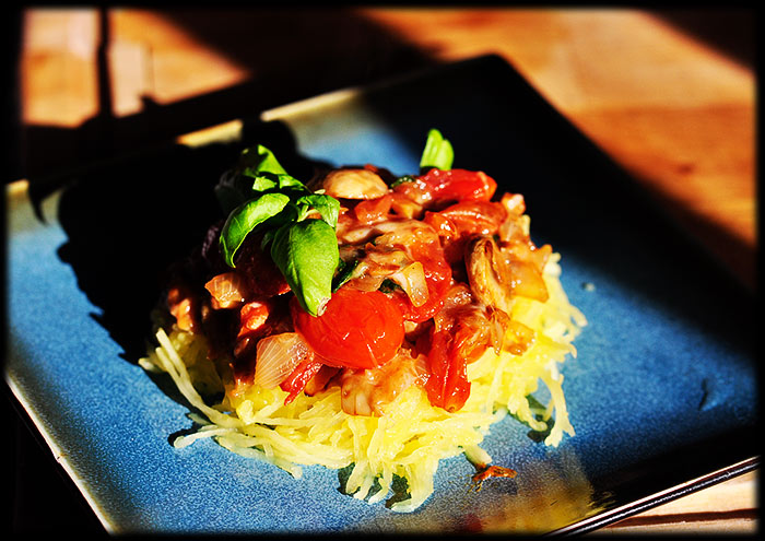 skinny spaghetti squash recipe