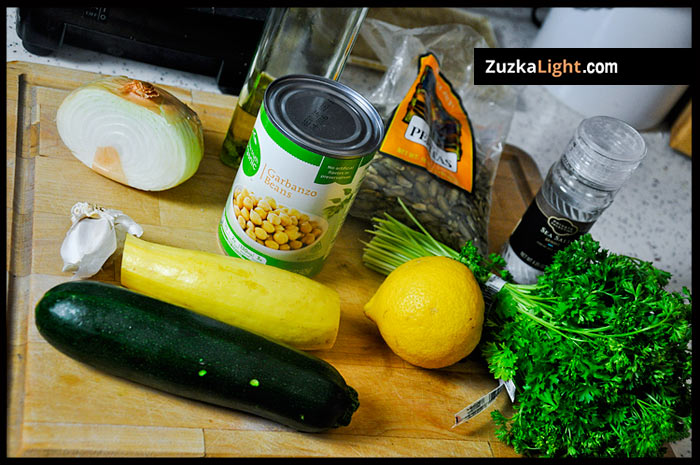 squash pasta ingredients