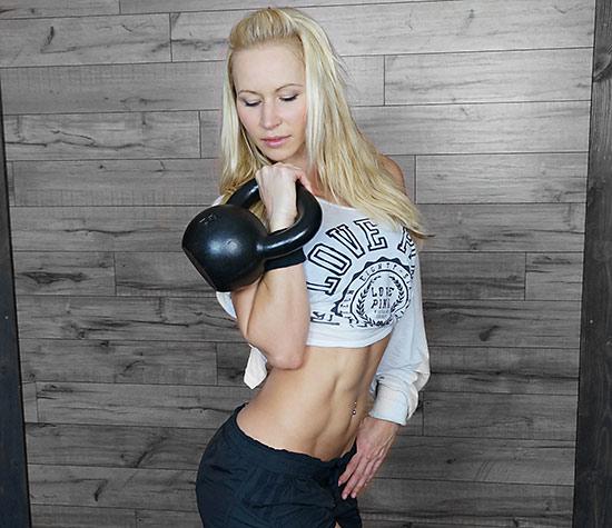 20 Minute Double Kettlebell Workout: Kettlebell Workout #1 X