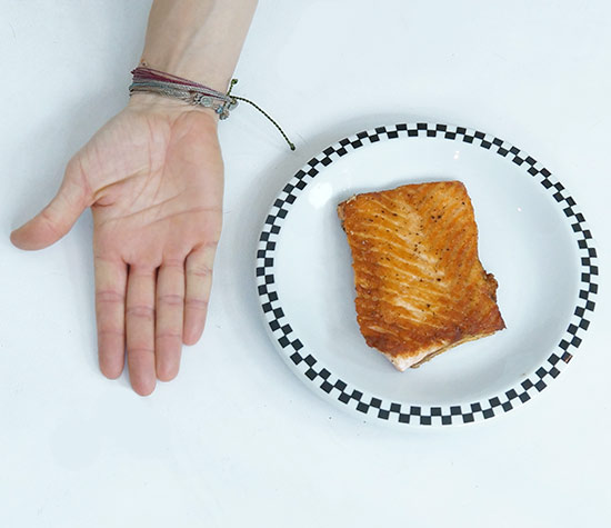Portion sizes zuzka light for Serving size of fish