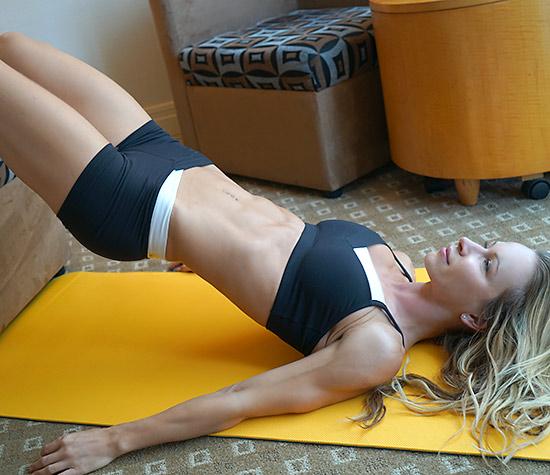 Hotel Room Workout Zuzka