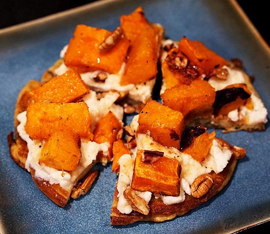 Roasted Butternut Squash on Coconut Flour Bread (FM) | Zuzka