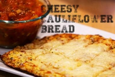 "Cheesy Cauliflower ""Bread"" (FM) January 11, 2016"