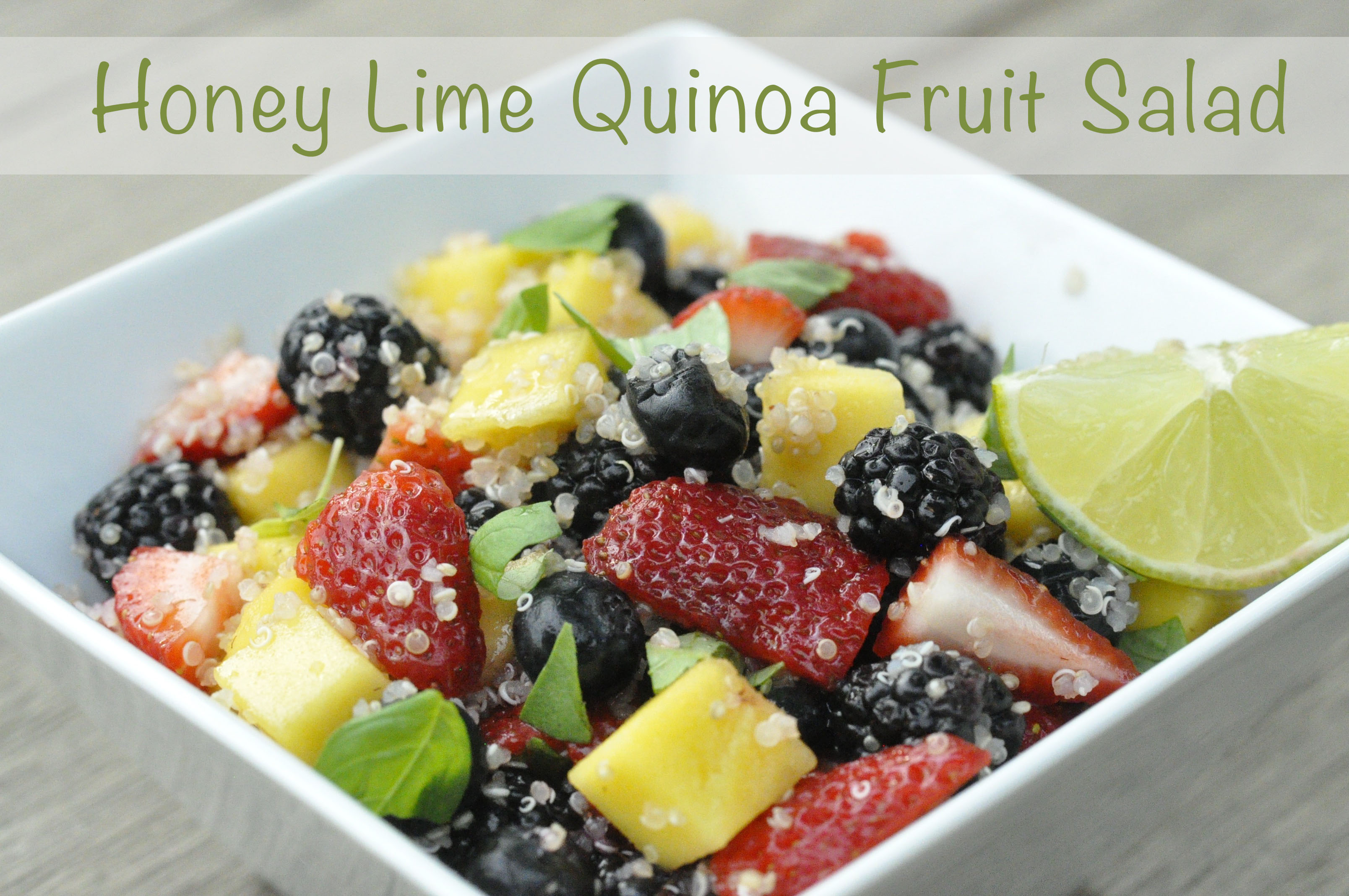 Quinoa Fruit Salad Recipe — Dishmaps