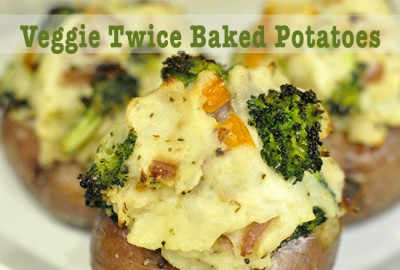 veggie twice baked potato potato FEATURED