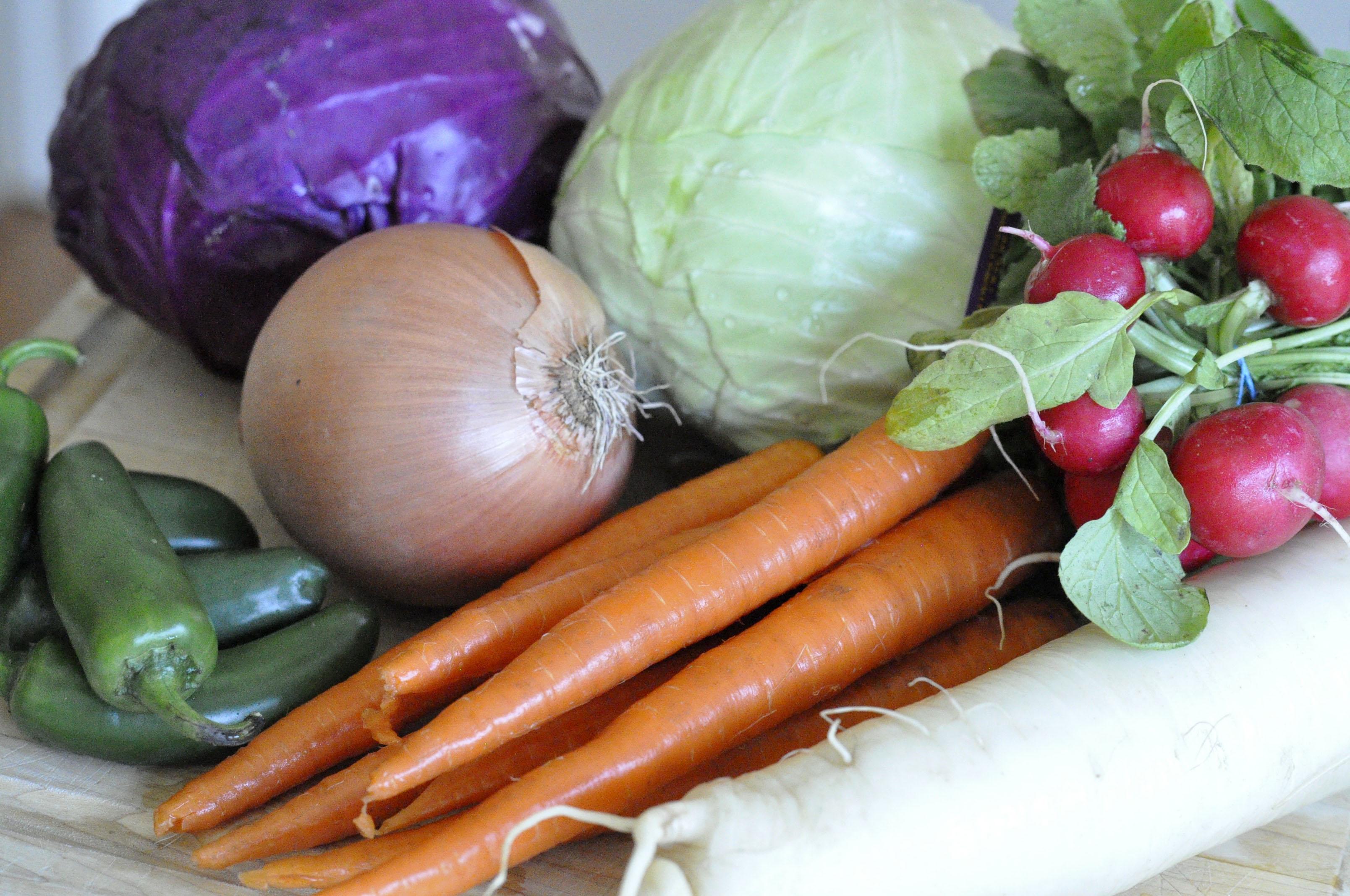 veggies for ferment POST