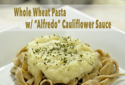 pasta with alfrdo sauce FEATURED