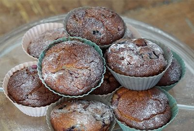 LowCarbMixedBerrySourCreamMuffinsFeatured