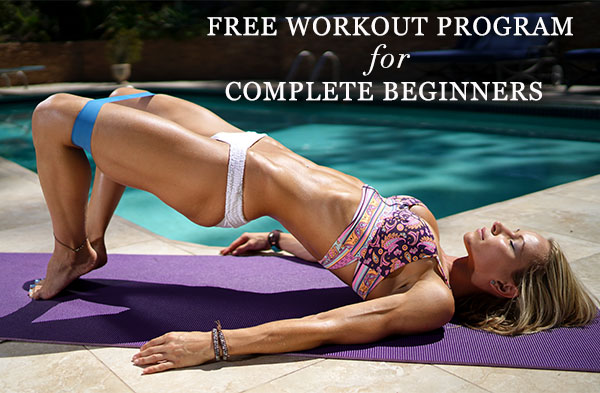 Free workout program for beginners