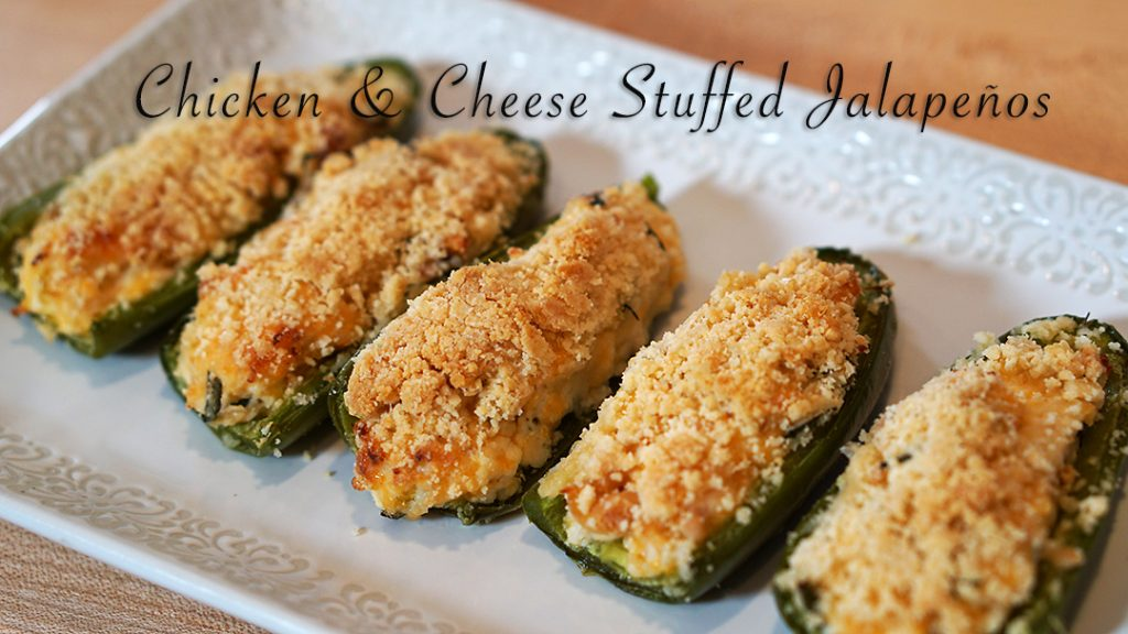 Chicken & Cheese Stuffed Jalapeños (FM) | Zuzka Light