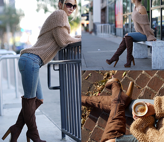 Zuzka Light Jeans My Boots From Shoedazz...