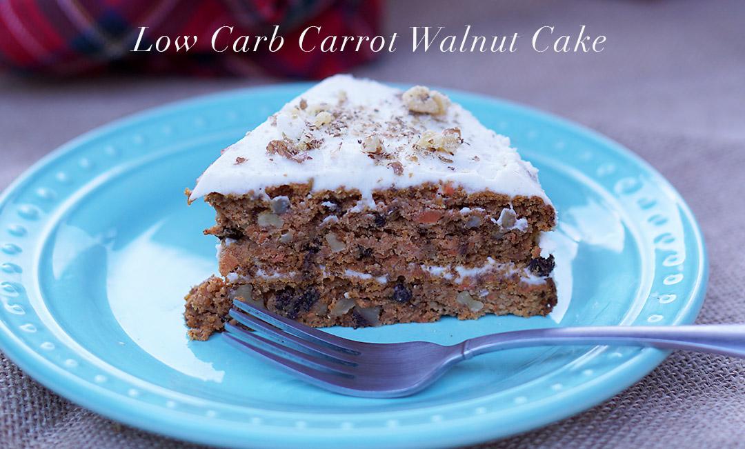 LowCarbCarrotWalnutCake
