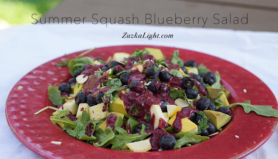 SummerSquashBlueberrySalad